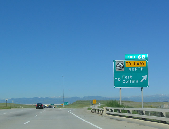 Peña Blvd Exit 6B